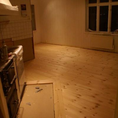 Och nu har vi golv…