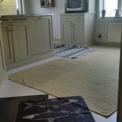 Nymålat golv. Igen.