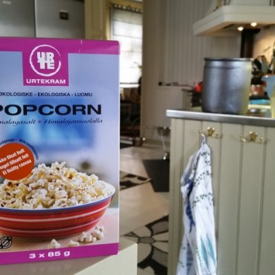 Ekologiska popcorn