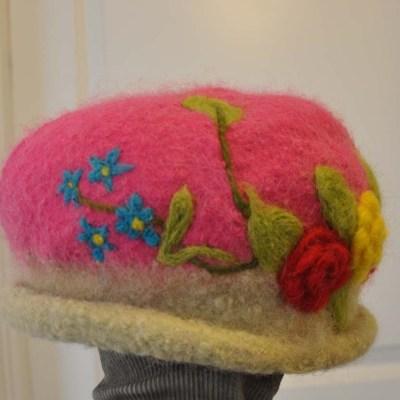 Blommande hattar