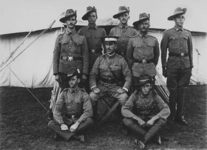 Northern Rivers Lancers-5th Lighthorse 1909