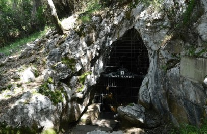 Caves of Santimamiñe - The rural houses of Ea Astei, Urdaibai natural park, Basque Country