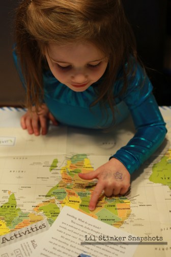 Looking at our new world map