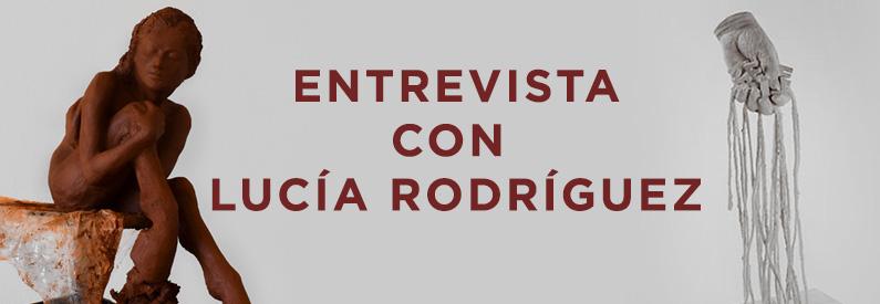 """Lucía Rodríguez: """"Me fascina la idea de trabajar con la energía que transmite la materia"""""""