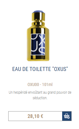 Shop parfum oxus frederic m