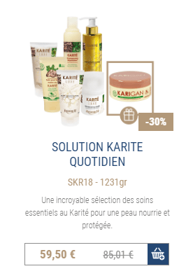 Shop solution karité quotidien