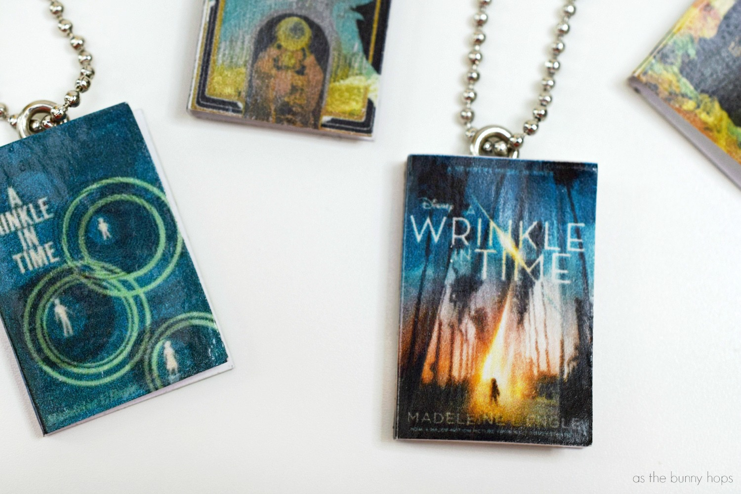 A Wrinkle In Time Book Charms As The Bunny Hops