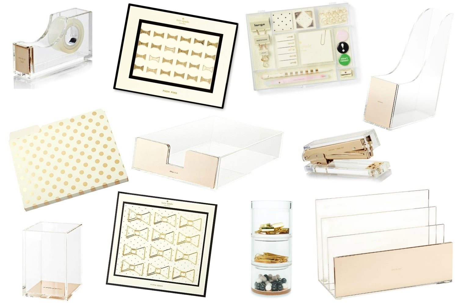 Eleven Kate Spade Office Supplies To Glam Up Your Desk As The Bunny Hops