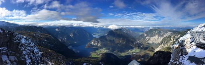 Obertraun hike - 5 fingers lookout