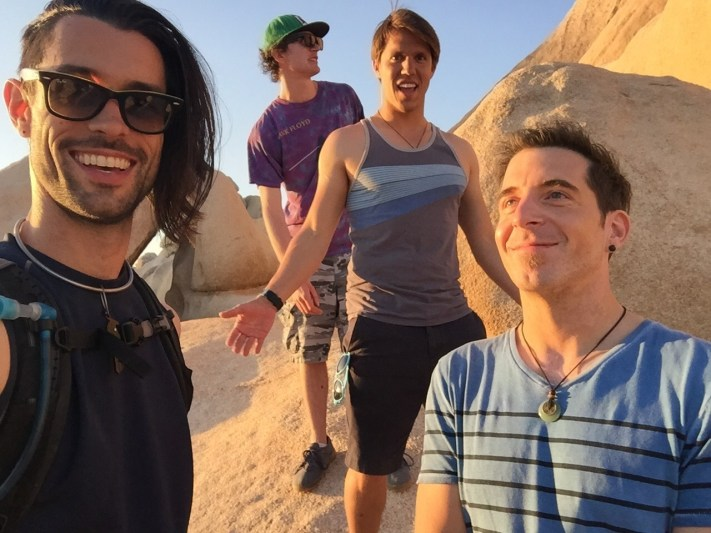 Brad Jeff David Geoffro Joshua Tree