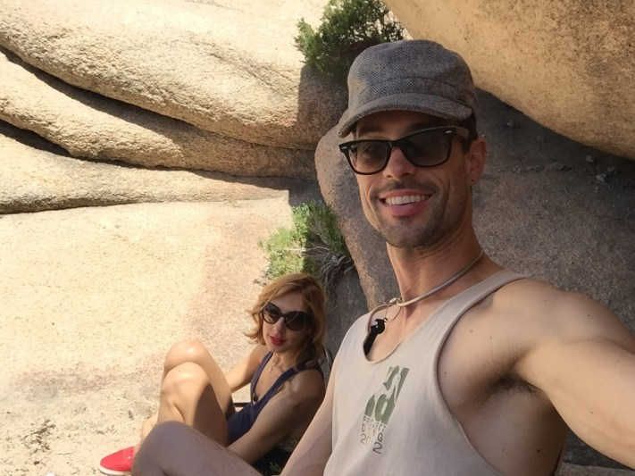 Brad and Lesley Joshua Tree