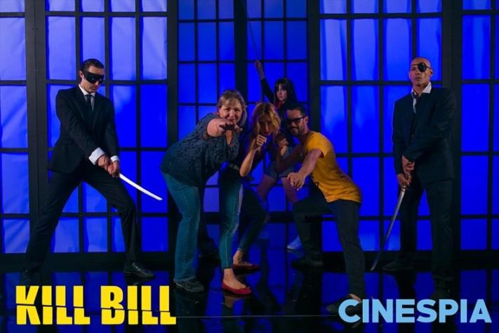 As The Crows Fly - Mama Lisa Cinespia Kill Bill
