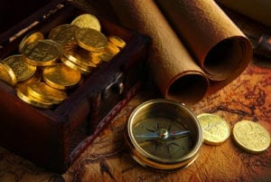 Treasure Maps Lead To Hidden Money. Dental office aging reports lead to missing money too!