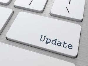 Update continuing care settings to improve dental hygiene recall systems.