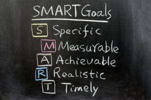 We are smart to set goals to reach in our dental practice administrative systems.