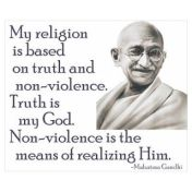 167006857_gandhi-quote---truth-is-my-go-poster