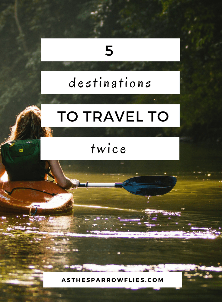Places To Travel To Twice. Travel Destination Inspiration and Advice.