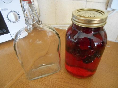Homemade Bramble Gin