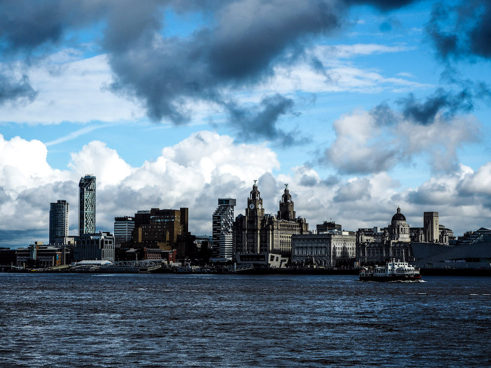 View from the River Mersey, Liverpool - A Weekend In Liverpool