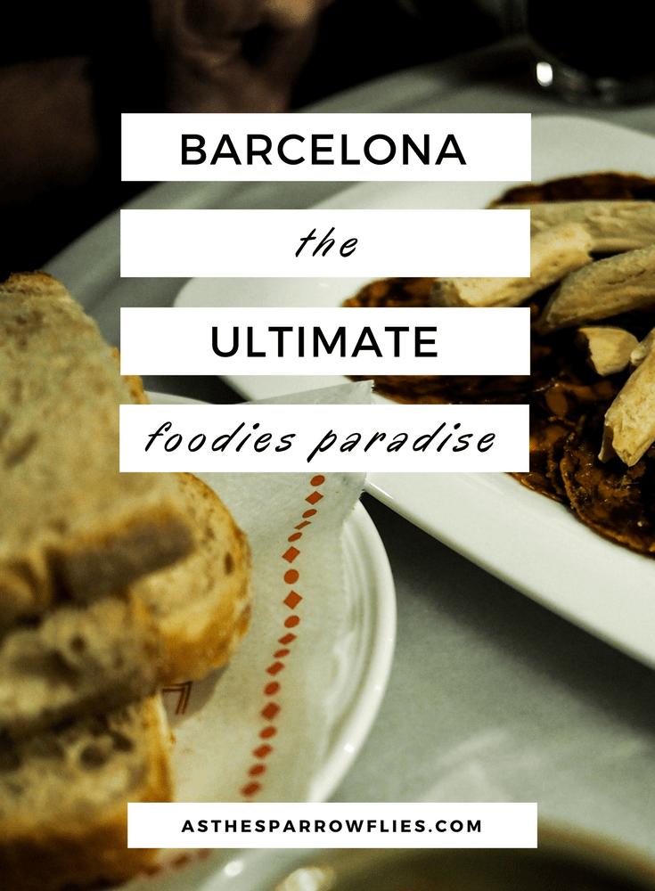 Foodies Guide to Barcelona | Barcelona Food Guide | Barcelona | European City Break #barcelonafood #spanishfood #foodguide
