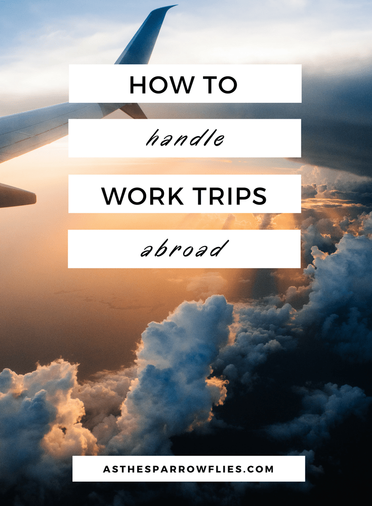 Work Trips Abroad | Travel | Travel Tips | Business Travel #traveltips #businesstravel