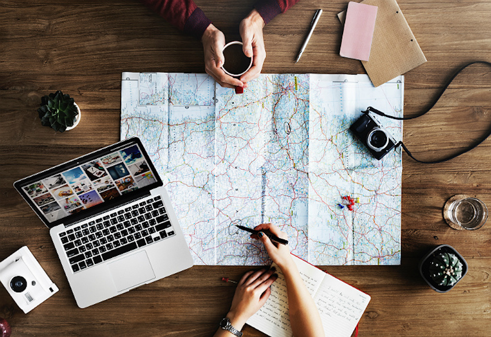 Map Travel Planning