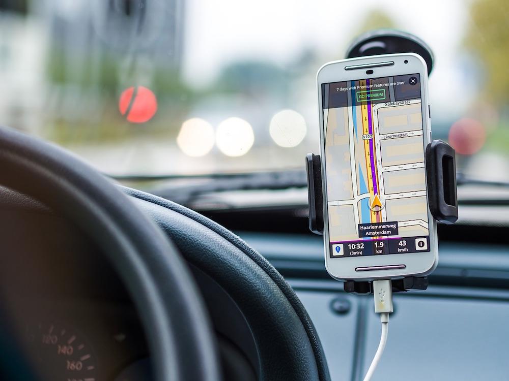 Smartphone Sat Nav