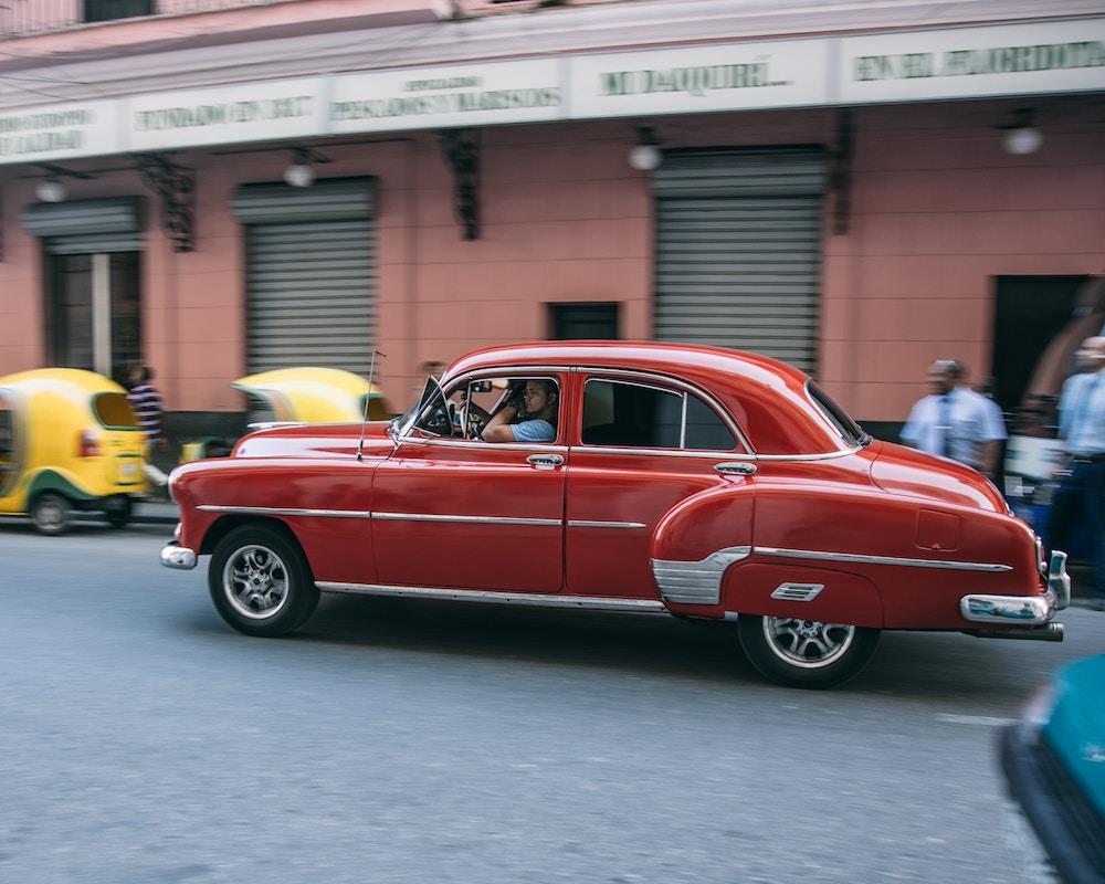 Vintage Cars Havana