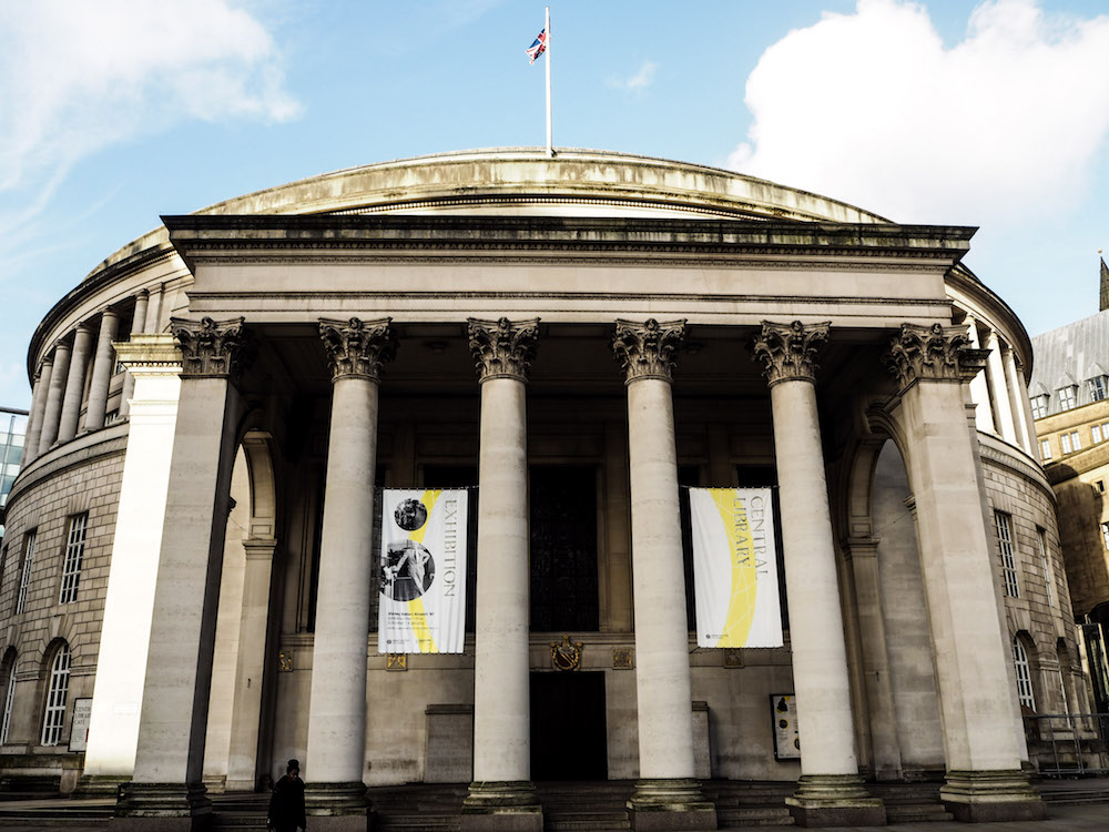 Manchester Central Library | Weekend in Manchester