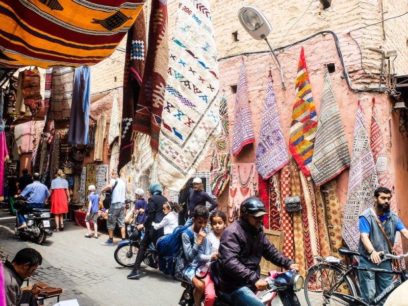 The Souks - Long Weekend in Marrakech