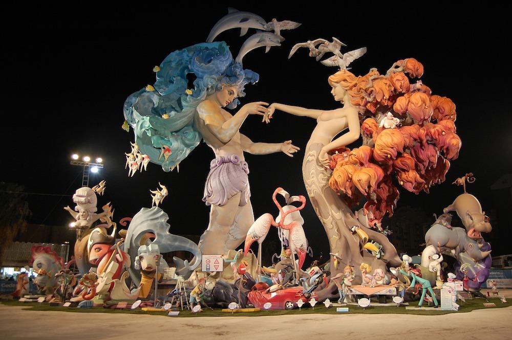 Spanish Festivals - La Fallas, Valencia