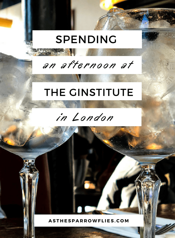 The Ginstitute in London | Making Your Own Gin | London Gin Distillery | What To Do in London #traveltips #london