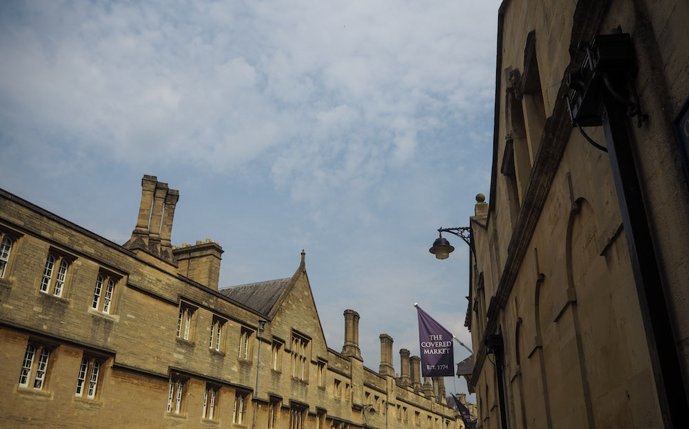 Oxford Day Trip, The Covered Market