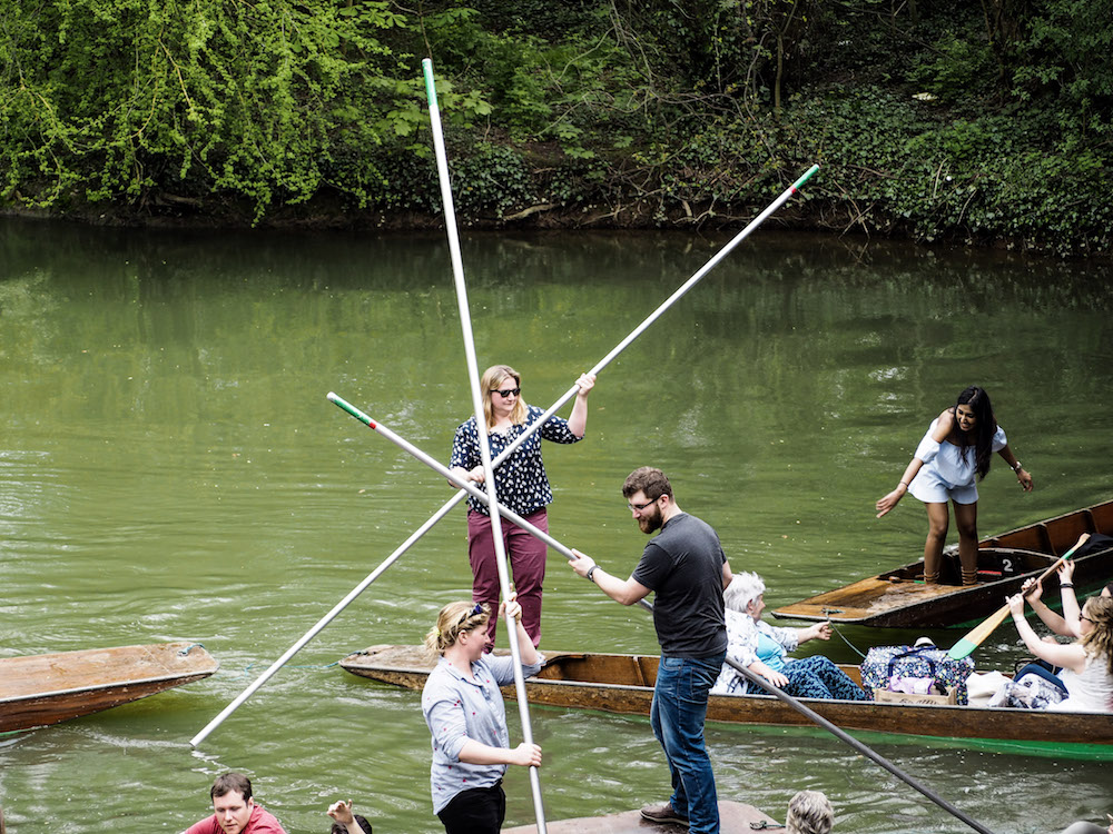Oxford Day Trip, Punting