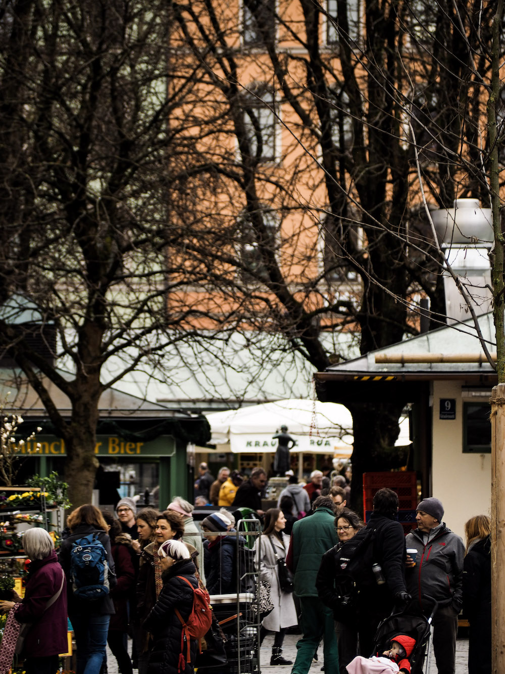 Viktualienmarkt, Long Weekend in Munich