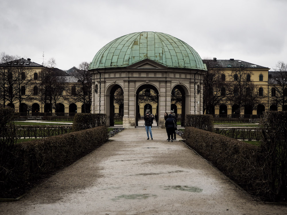 Hofgarten, Long Weekend in Munich