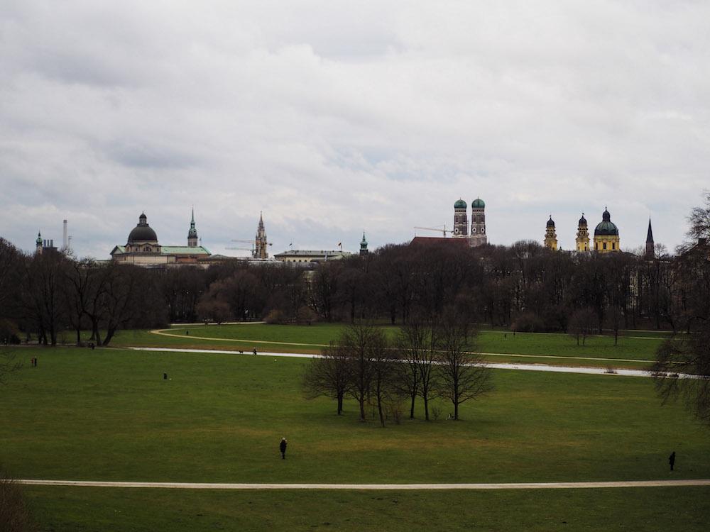 Englischer Garten, Long Weekend in Munich