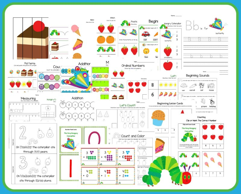 Hungry Caterpillar preview