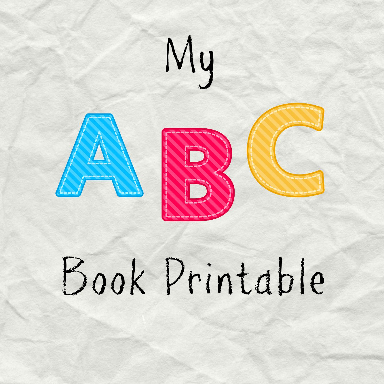 This is a photo of Critical Alphabet Booklets Printable