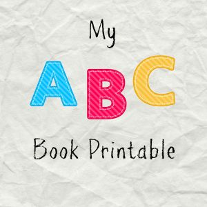 My ABC Book Printable