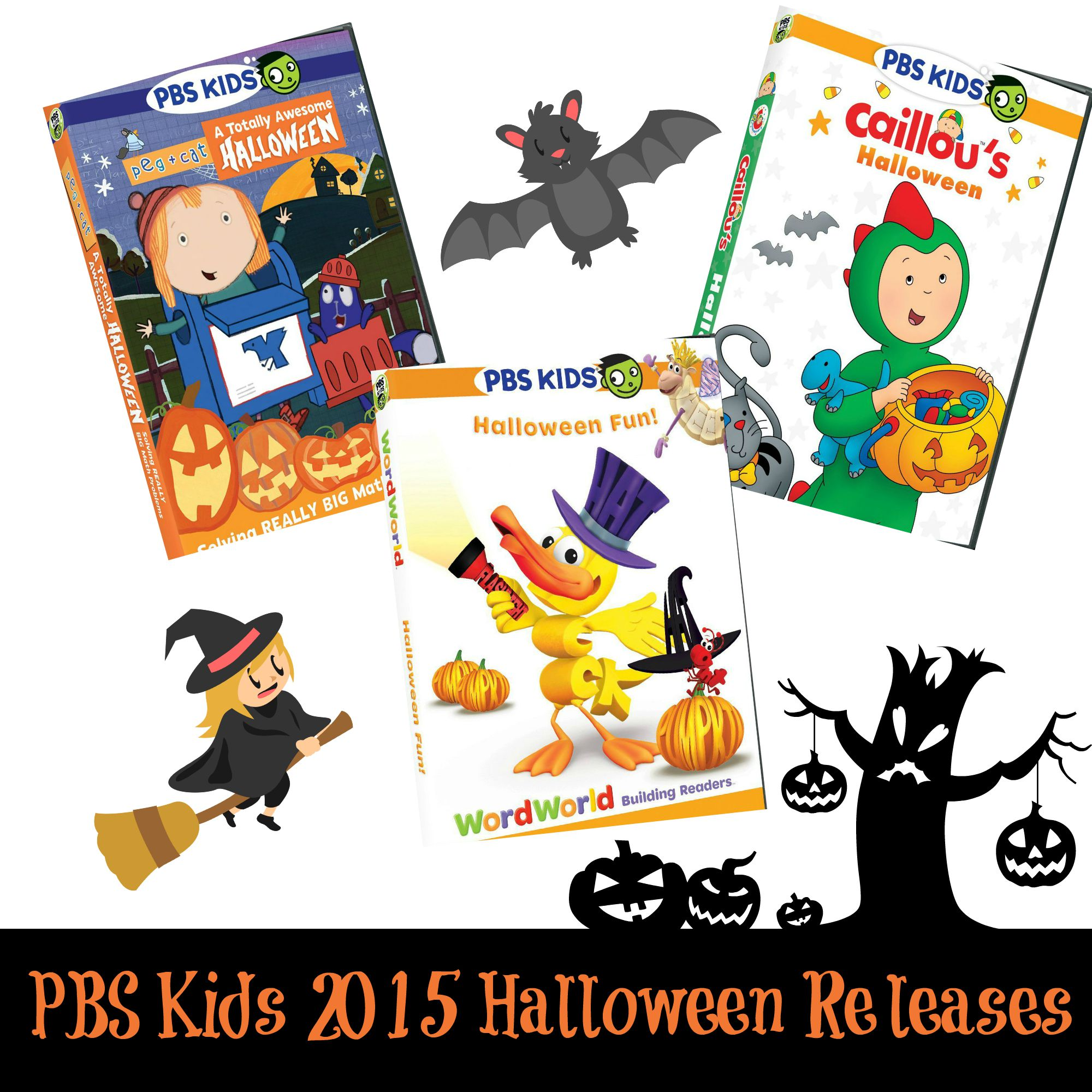 Pbs Kids Halloween Dvd.Three New Pbs Kids Dvds Offer Spook Tastic Halloween Fun