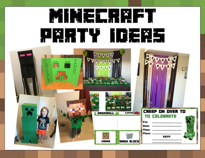 Minecraft Party Labels - Untitled Page (4)