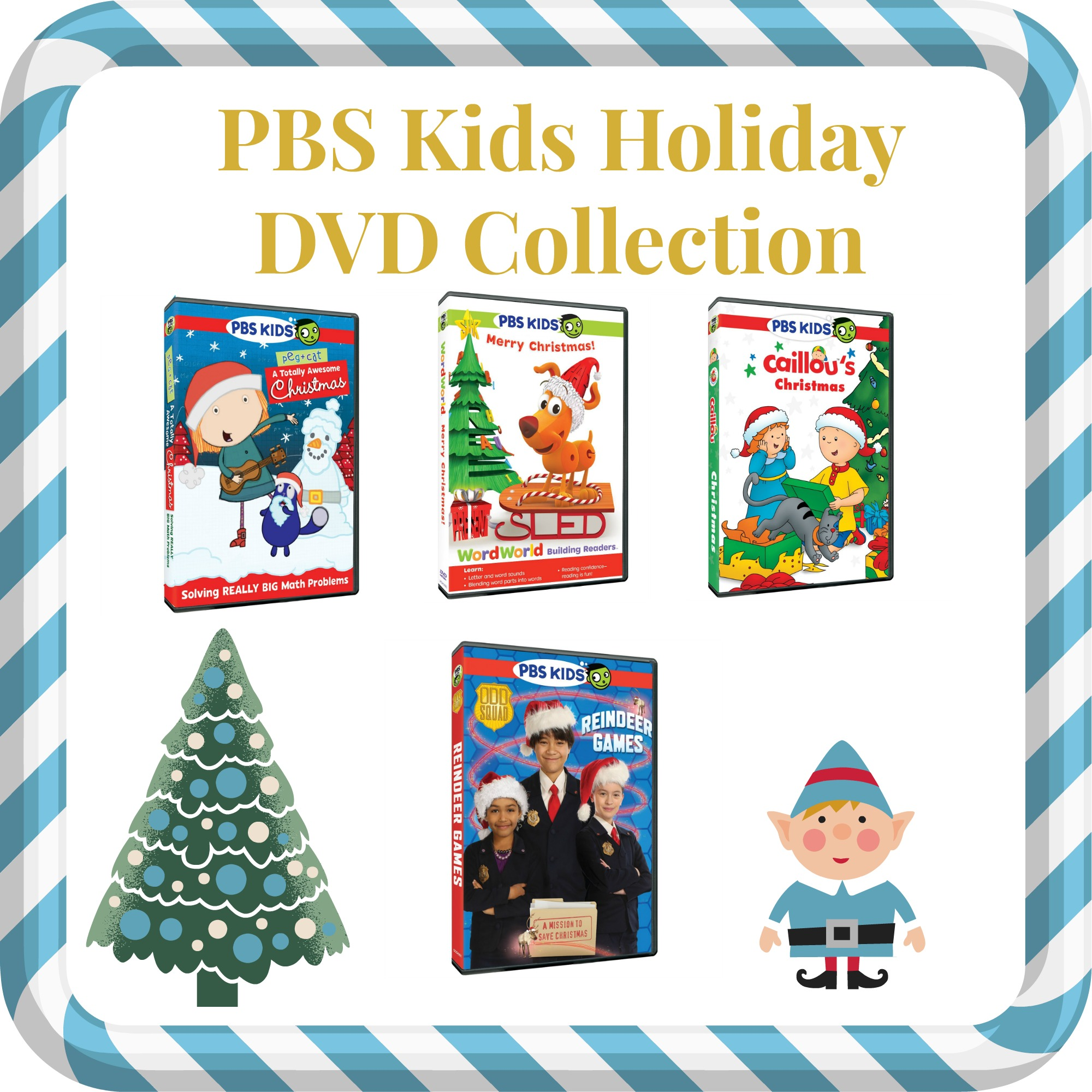 Holiday Fun Awaits In Four NEW PBS Kids DVDs