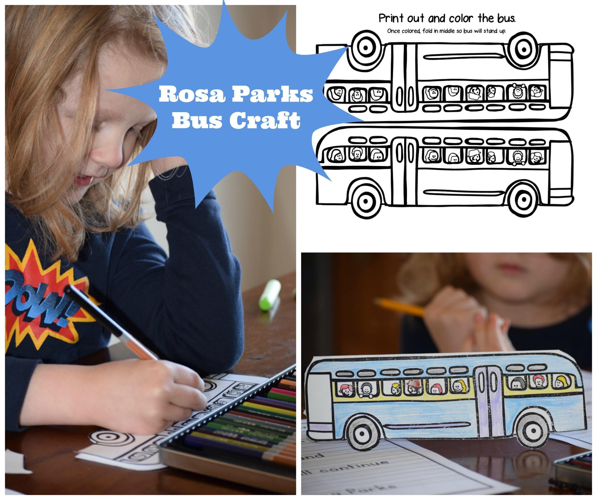 Rosa Parks Unit Study Amp Free Printable