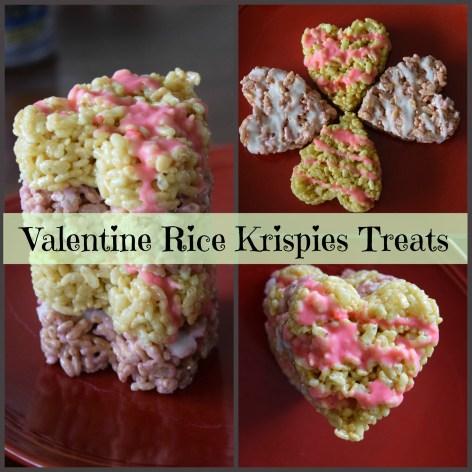 Valentine Rice Krispies Treats