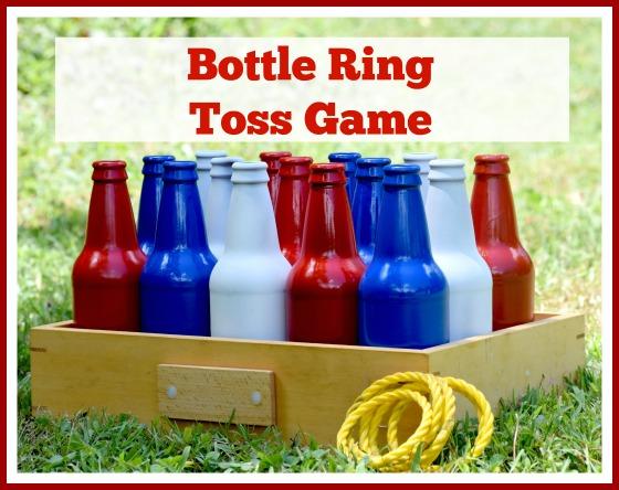 DIY Bottle Ring Toss Game