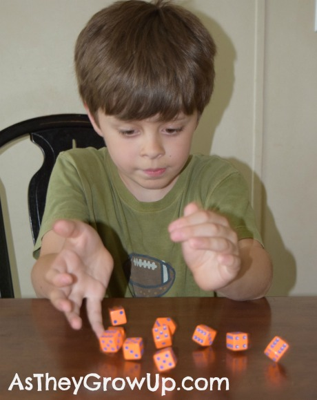 photograph about 77 Ways to Play Tenzi Printable titled Entertaining with Tenzi Cube