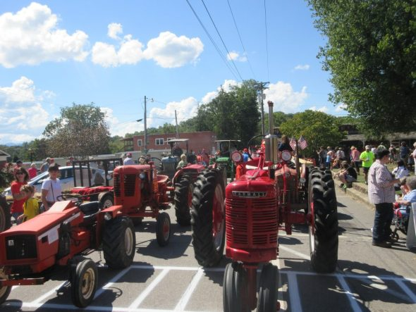 Clay County Tractor Parade