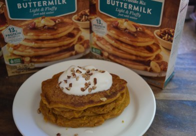 Krusteaz Buttermilk Protein Pancake Mix and Recipe