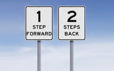 1 Step Forward, 2 Steps Back